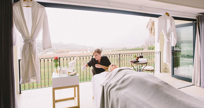 spa treatments at banhoek lodge